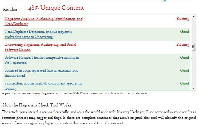 SmallSEOTools.com's Plagiarism Checker (4/6)