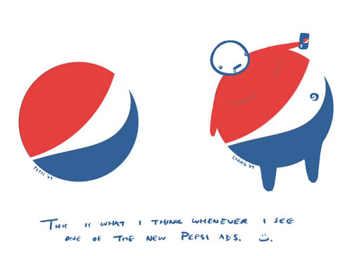 An example of detournement - Pepsi