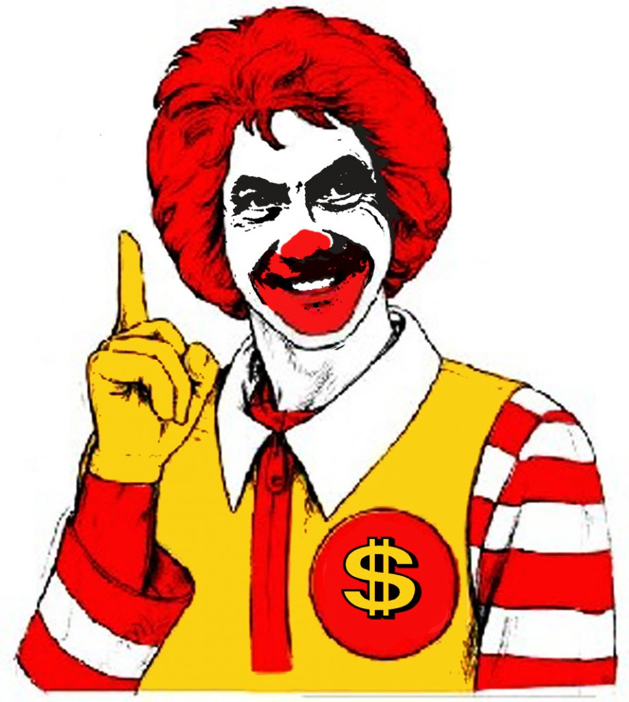 Ronald McDonald detournement