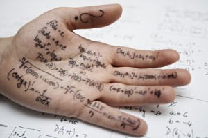 Writing on hand cheating
