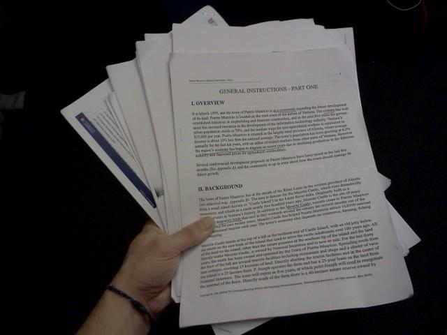 essay on paper
