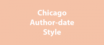 Chicago Author-date Style