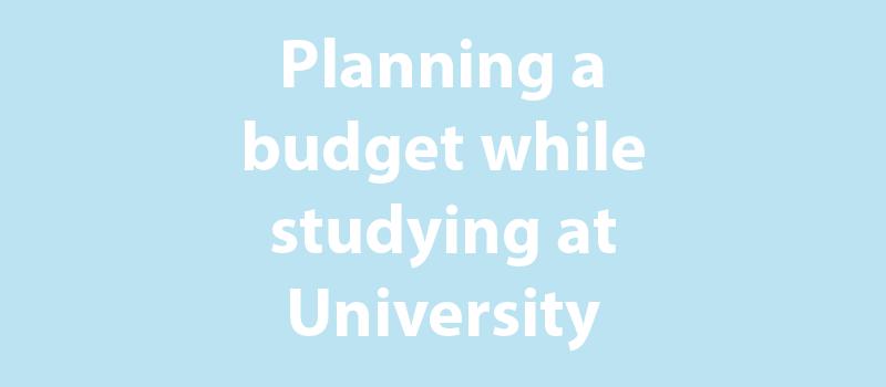 University budget