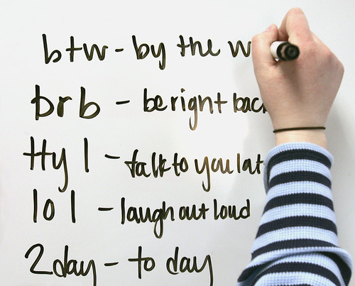 Acronyms for revision