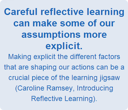 Careful reflective learning