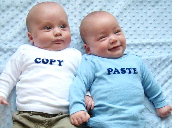 Copy and paste babies