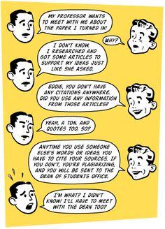Plagiarism dialogue