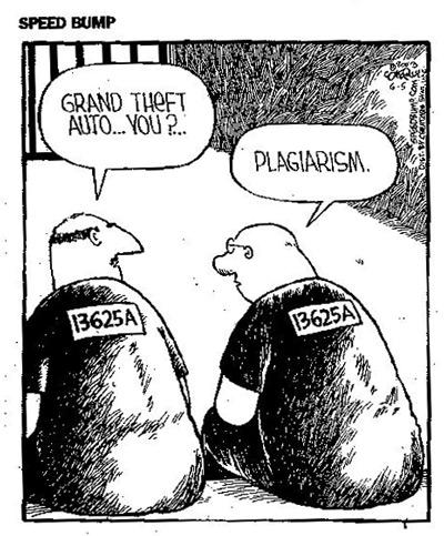 Plagiarism prison