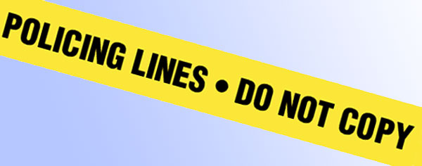 Policing lines - do not copy